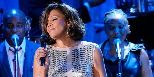 Whitney Houston. Mark J. Terrill / TT NYHETSBYRÅN
