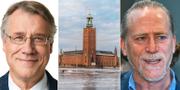 Jan Valeskog (S) och Daniel Helldén (MP) Socialdemokraterna och TT