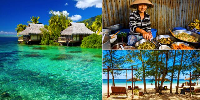 Läcker mat, vackra stränder och härligt boende – tre goda anledningar att åka till Phu Quoc. Thinkstock / Phuquocvietnam.net