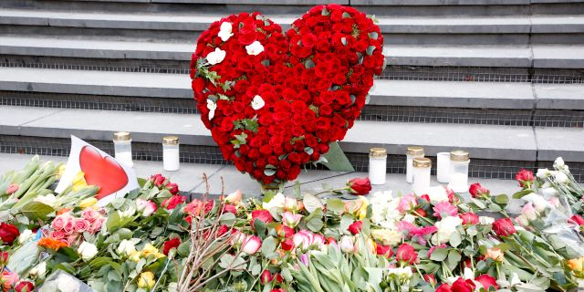 Bild från årsdagen 2018 av terrordådet i Stockholm. Christine Olsson/TT / TT NYHETSBYRÅN