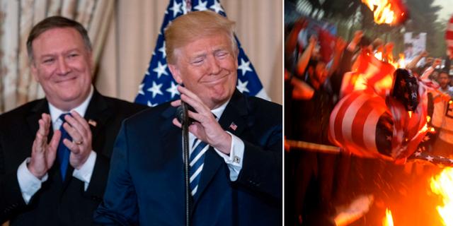 Mike Pompeo och Donald Trump har blivit berusade av maktmedlet sanktioner, enligt en Bloomberg-analys.