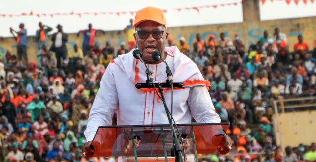 Burkinske presidenten Roch Kaboré. Sam Mednick / TT NYHETSBYRÅN