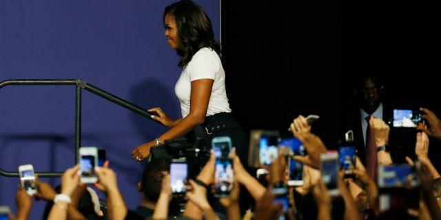 Michelle Obama. John Locher / TT NYHETSBYRÅN/ NTB Scanpix