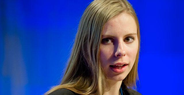 Hanna Wagenius (C).  ULF PALM / TT / TT NYHETSBYRÅN