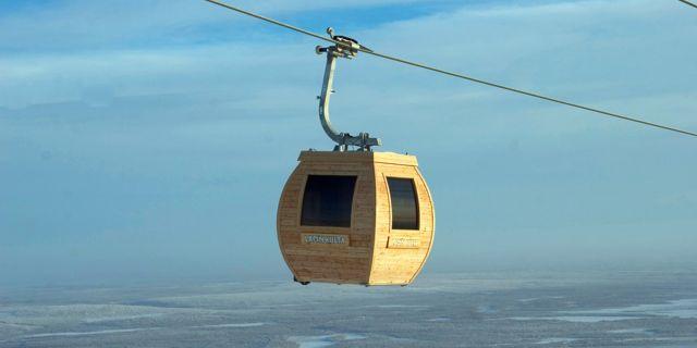 Kombinerad lift och bastu – snacka om två flugor i en smäll Ylläs Ski Resort
