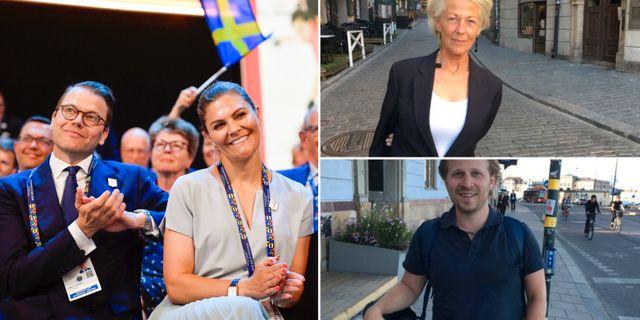 Prins Daniel och kronprinsessan Viktoria/Marie Vallée och Jonas Sarin Kac. TT