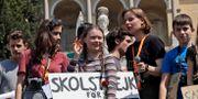Alternativ för Tysklands nya strategi är att profilera sig som motståndare till klimatrörelsen, som uppmärksammats med Greta Thunbergs klimatstrejk. Alessandra Tarantino / TT NYHETSBYRÅN/ NTB Scanpix