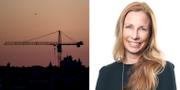 Pernilla Bonde, vd HSB Riksförbund.  TT / HSB