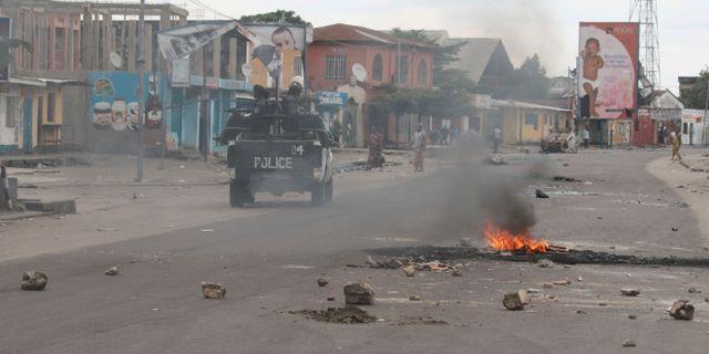 Arkivbild. Oroligheterna i Kongo-Kinshasa intensifierades förra året. John bompengo / TT / NTB Scanpix