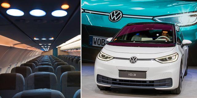 Illustrationsbild. Airbus och Volkswagen har en hel del köprekommendationer.  TT