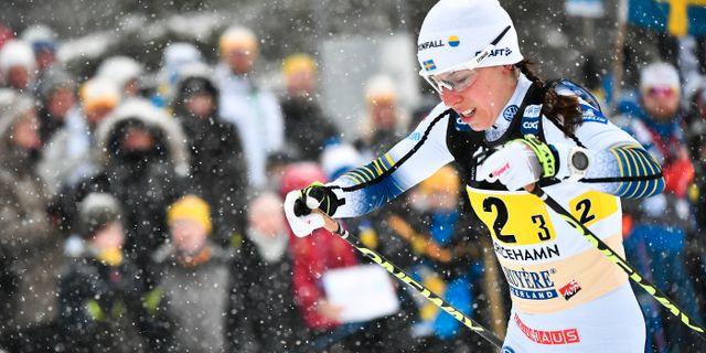 Kalla under världscuploppet i Ulricehamn i söndags. Björn Larsson Rosvall/TT / TT NYHETSBYRÅN