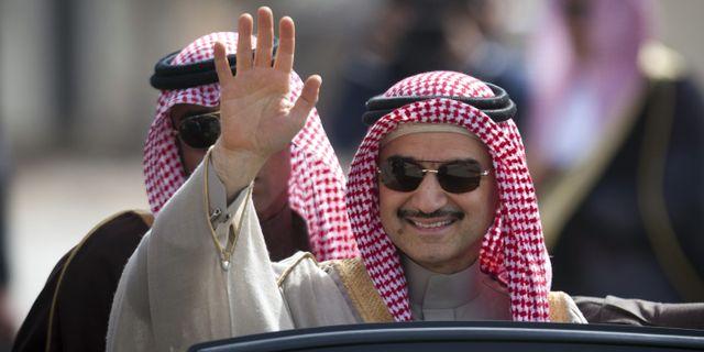 Alwaleed bin Talal  Majdi Mohammed / TT / NTB Scanpix