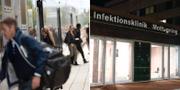 Arkivbild/Infektionskliniken på Östra sjukhuset i Göteborg. TT