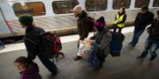 Arkivbild. Asylsökande på Malmö station.  Fredrik Sandberg/TT / TT NYHETSBYRÅN