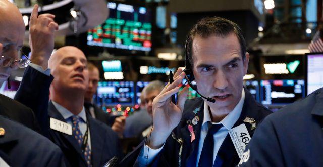 Illustrationsbild: Börsmäklare på NYSE. Richard Drew / TT NYHETSBYRÅN