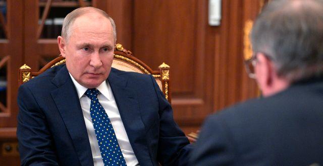 Vladimir Putin/Arkivbild Alexei Druzhinin / TT NYHETSBYRÅN