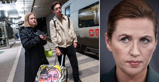 Ida Andersson och Macaulay Spencer/Mette Frederiksen. TT