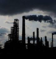 Arkivbild: Sinopecs oljeraffinaderi i Qingdao i Kinas Shandong-provinsen.  TT NYHETSBYRÅN