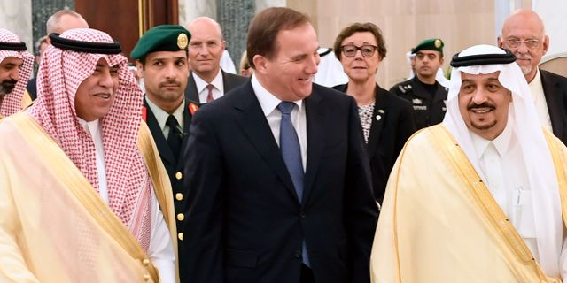 Sverige inleder militart samarbete med saudiarabien