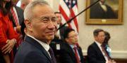 Arkivbild: Kinas vice premiärminister Liu He besökte Vita huset i oktober.  Andrew Harnik / TT NYHETSBYRÅN