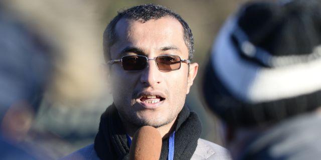 Saelem Mohammed Noman Al-Mughalles. Stina Stjernkvist/TT / TT NYHETSBYRÅN