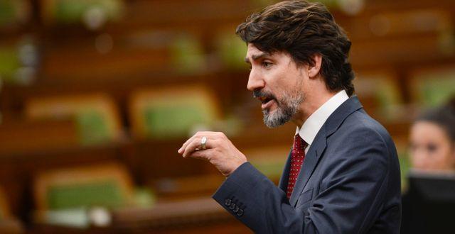 Arkivbild: Justin Trudeau Sean Kilpatrick / TT NYHETSBYRÅN