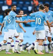 Manchester City firar. SHAUN BOTTERILL / BILDBYRÅN