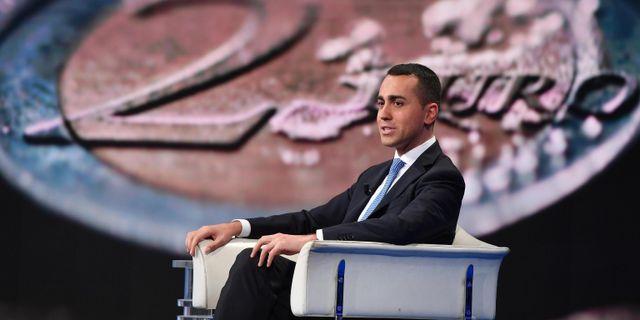 Arkivbild: Italiens biträdande premiärminister Luigi Di Maio.  Ettore Ferrari / TT NYHETSBYRÅN/ NTB Scanpix