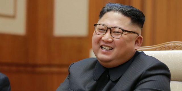 Nordkoreas ledare Kim Jong-Un. KCNA VIA KNS / KCNA VIA KNS