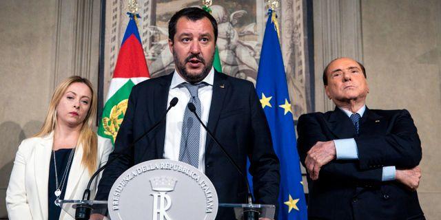 Matteo Salvini i mitten. Angelo Carconi / TT / NTB Scanpix