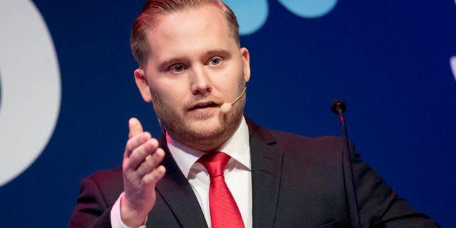 Henrik Vinge. Pavel Koubek/TT / TT NYHETSBYRÅN