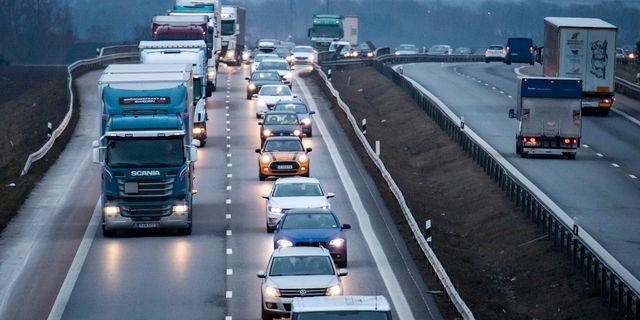 E6:an mellan Malmö och Landskrona Johan Nilsson/TT / TT NYHETSBYRÅN