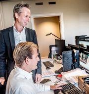 Martin Carlesund, vd för onlinekasinobolaget Evolution Gaming. Arkivfoto, 2017. Tomas Oneborg/SvD/TT / TT NYHETSBYRÅN