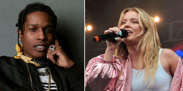 Asap Rocky/Zara Larsson.  TT.