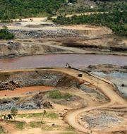 Dammen har byggts sedan 2012. Elias Asmare / TT NYHETSBYRÅN