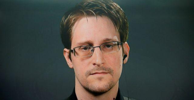 Edward Snowden. BRENDAN MCDERMID / TT NYHETSBYRÅN