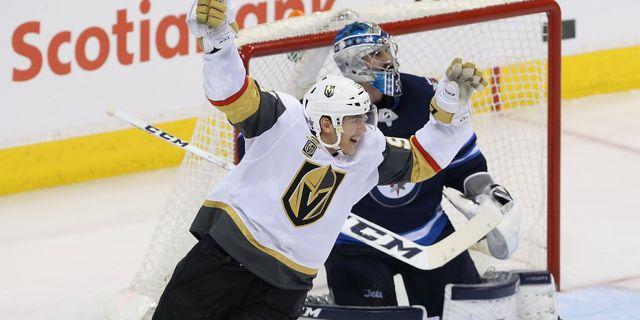 Vegas Golden Knights Tomas Nosek firar. Jason Halstead / GETTY IMAGES NORTH AMERICA