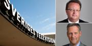 Lars Beckman (M) och Jan Ericson (M) är kritiska till SVT. TT