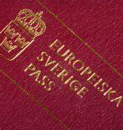 Ett svenskt pass. Hasse Holmberg / TT / TT NYHETSBYRÅN