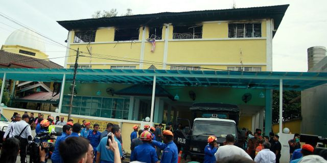 Den religiösa skolan Darul Quran Ittifaqiyah i Kuala Lumpur. SADIQ ASYRAF / AFP