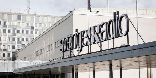Sverige Radio. Christine Olsson / TT NYHETSBYRÅN