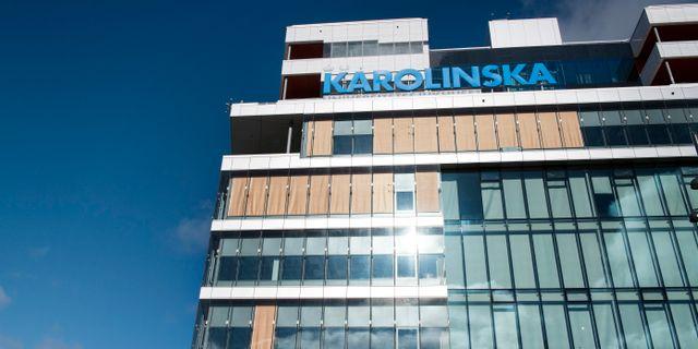 Nya Karolinska i Solna. Arkivbild. Jessica Gow/TT / TT NYHETSBYRÅN