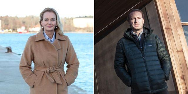Carina Åkerström/Oscar Engelbert. Pressbild / TT