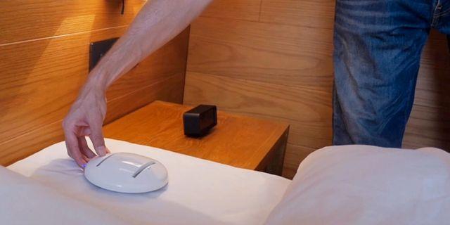 Den nya bakteriedödande roboten CleanseBot är så liten att den får plats i fickan. CleanseBot