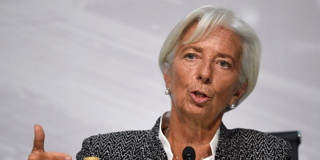 IMF-chefen Christine Lagarde Gustavo Garello / TT / NTB Scanpix