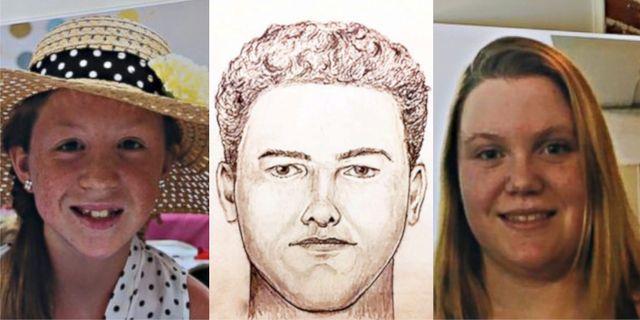 Abby Williams, sketch av misstänkt mördare, Libby German.