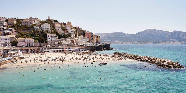 Marseille är en av SAS nyheter i vår.  Getty