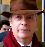 Ukips tidigare partiledare Nigel Farage.  FRANCOIS LENOIR / TT NYHETSBYRÅN
