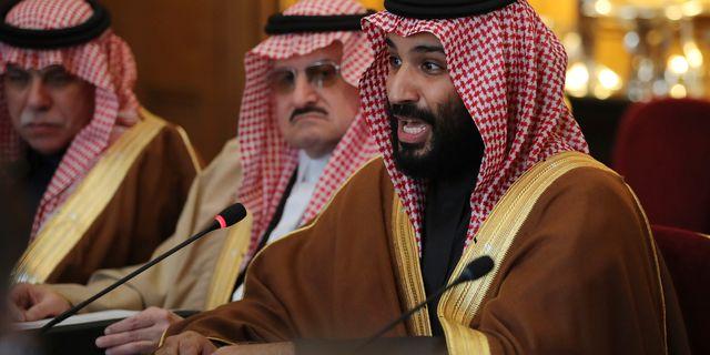Den saudiske kronprinsen Mohammed bin Salman. Dan Kitwood / TT / NTB Scanpix