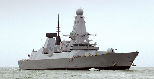 Illustrationsbild. Fartyg från den brittiska flottan.  Ben Sutton / TT NYHETSBYRÅN